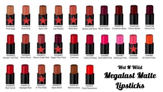 fotos wet n wild lipsticks coleccion completa